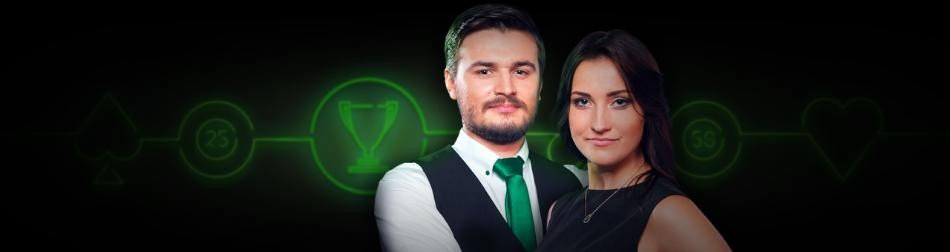 Unibet: Play Live Casino for €50,000 in prizes