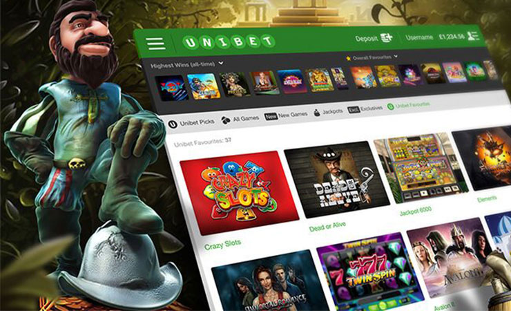 Unibet: More slot machines