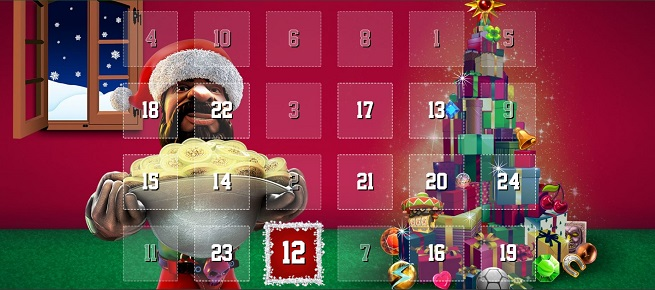 Unibet: Christmas promotions - every day