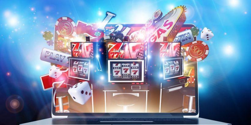An abundance of slot machines!