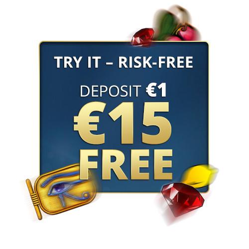 Sunmaker offer: DEPOSIT €1 = GET €15 FREE